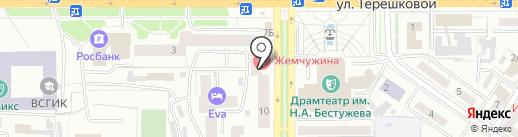 Подросток на карте Улан-Удэ