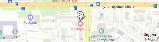 Шэнэ Бууза на карте Улан-Удэ