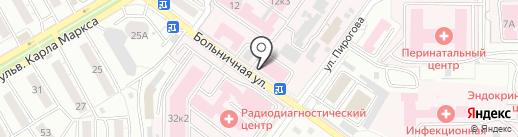 Республиканское патологоанатомическое бюро на карте Улан-Удэ