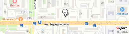 Аршан на карте Улан-Удэ