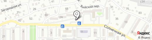 Источник на карте Улан-Удэ