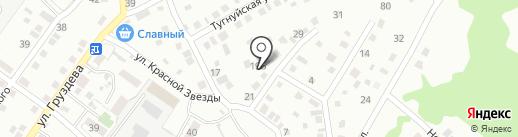 Удача на карте Улан-Удэ