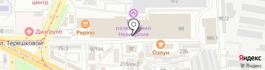 В ритме танца на карте Улан-Удэ