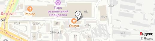 Адвокатский кабинет Гатановой М.Л. на карте Улан-Удэ