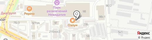 Musclepower на карте Улан-Удэ