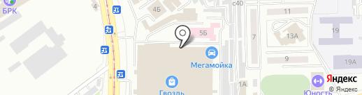 Домино на карте Улан-Удэ