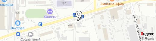 Сенатор на карте Улан-Удэ