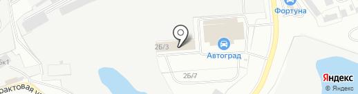 Автоком на карте Улан-Удэ