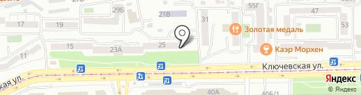 Podarilli на карте Улан-Удэ