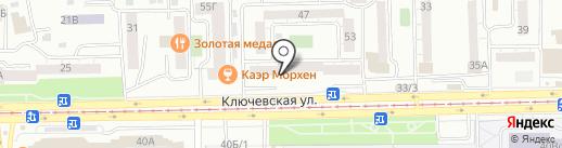 Добромед на карте Улан-Удэ