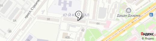 Hostelhouse на карте Улан-Удэ