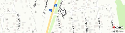 Кафе-буузная на карте Улан-Удэ