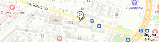 Родной на карте Улан-Удэ