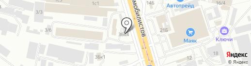 Ворота 3012 на карте Улан-Удэ