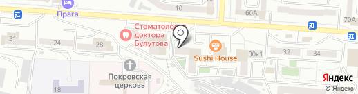 Отделение лицензионно-разрешительной работы на карте Улан-Удэ