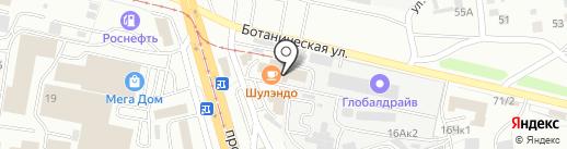 Элсан на карте Улан-Удэ