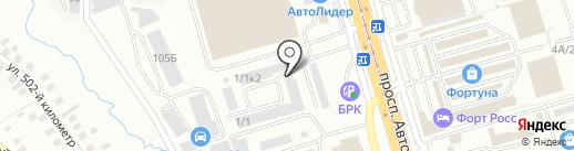 Центр кузовного ремонта на карте Улан-Удэ
