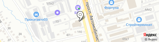 СибИнфоСервис на карте Улан-Удэ