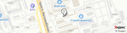 Металлист на карте Улан-Удэ