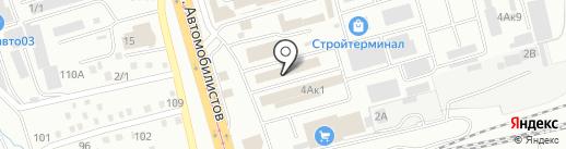 Торгово-монтажная компания на карте Улан-Удэ
