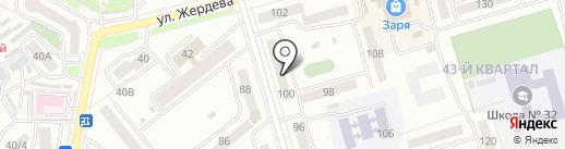 Родной город на карте Улан-Удэ