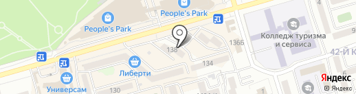 Престиж на карте Улан-Удэ