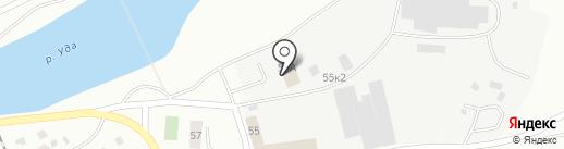 Автострой на карте Улан-Удэ