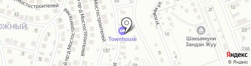 Townhouse на карте Улан-Удэ