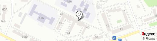 Глобус на карте Улан-Удэ