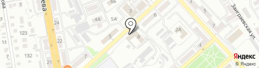 Прачечная №1 на карте Улан-Удэ
