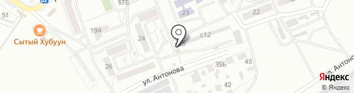 Пелитон на карте Улан-Удэ
