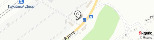 Дирекция по управлению терминально-складским комплексом на карте Улан-Удэ