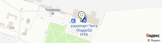 Магазин сувениров на карте Читы