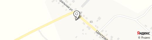 Искра на карте Ерёмино