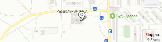 ALEX на карте Читы