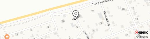 Форамика на карте Засопки