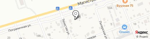 Акулoff на карте Засопки