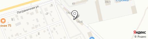 Магазин мясной продукции на карте Засопки