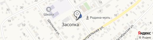 Администрация сельского поселения Засопкинское на карте Засопки