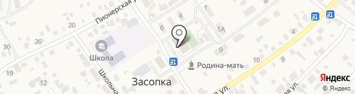 Районный дом культуры на карте Засопки