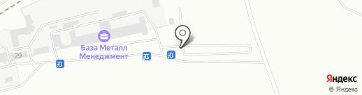 Штрафстоянка на карте Читы