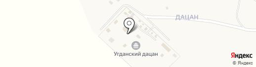 Содномдаржайлинг на карте Угдана