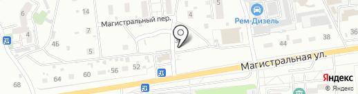 Маяк на карте Читы