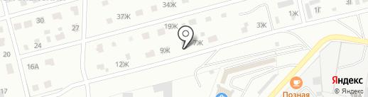 Витимский на карте Читы