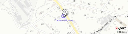 Гостиный дом на карте Читы