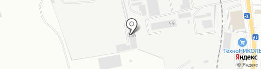 ТЕХНОКОМ на карте Читы