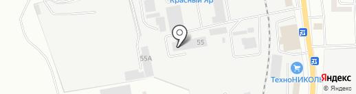 Семнадцатая школа на карте Читы
