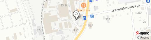 Забайкальская промышленно-строительная компания на карте Читы