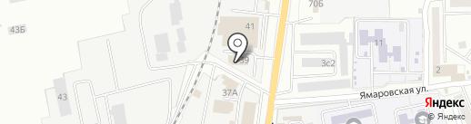 Унисон на карте Читы
