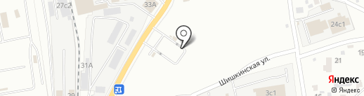 Ямской на карте Читы